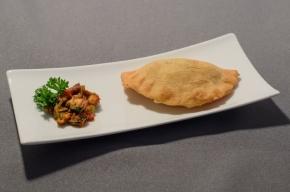amuse - Empanadillas met mosselen en verse chorizo